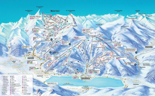 Kitzsteinhorn 2019 Karte